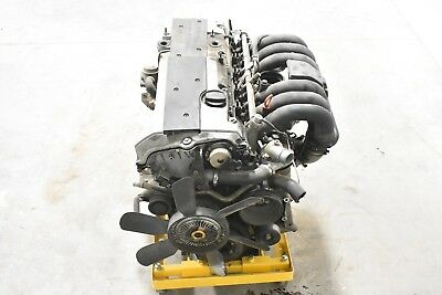 94-97 Mercedes R129 Sl320 3.2l V6 Engine Block Motor Assembly Oem 140k