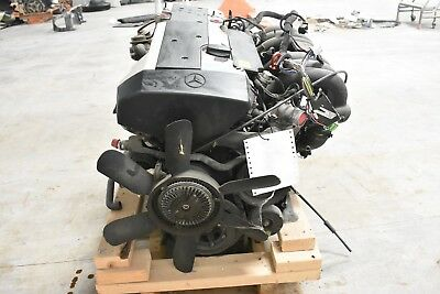 94-97 Mercedes R129 Sl320 3.2l V6 Engine Block Motor Assembly Oem 131k