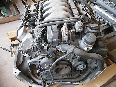 2000 2001 2002 Mercedes S430 Engine Complete