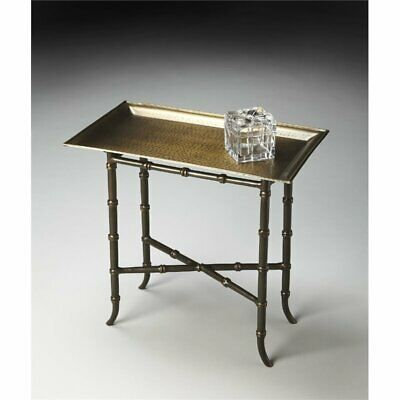 Butler Specialty Metalworks Accent Table In Bronze