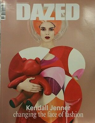 Dazed & Confused Kendall Jenner Fashion Winter 2014 Free Priority Shipping