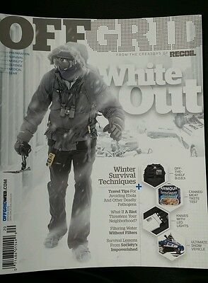 Off Grid Recoil Survival Guide Self Defense Winter 2015 Free Priority! Shipping