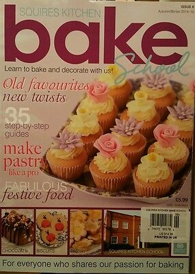 Squires Bake School Uk Cupcakes Autumn/winter 2014-15 #6 Free Priority Shipping
