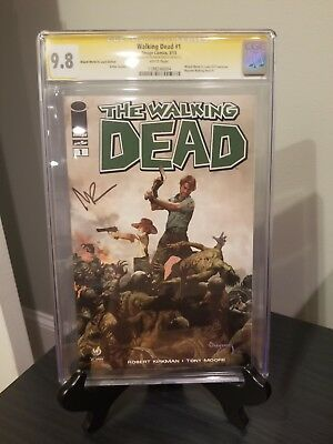 Walking Dead #1 St Louis Variant Cgc 9.8 Norman Reedus Auto ***taking Offers***