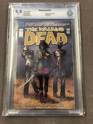 The Walking Dead 19 Cbcs 9.8 1st Appearance Of Michonne (not Cgc) #19