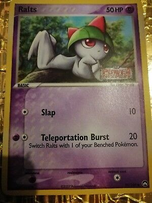 Pokemon Power Keepers Ralts reverse holo 59/108 trading card - excellent