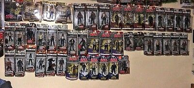 Lot Of 45 The Walking Dead Mcfarlane Action Figures-daryl Rick Negan, Exclusives