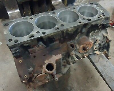 2.3l 4 Cylinder Engine Block 1987-1993 Ford Mustang Ranger 2300 Main Caps