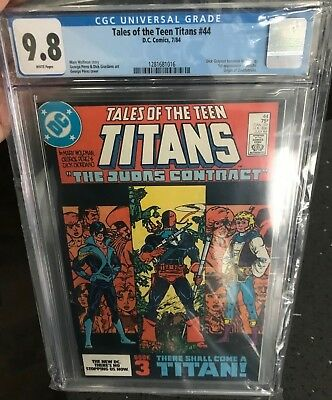 Tales Of The Teen Titans #44 Cgc 9.8  1st App. Of Nightwing!key Issue!l@@k!
