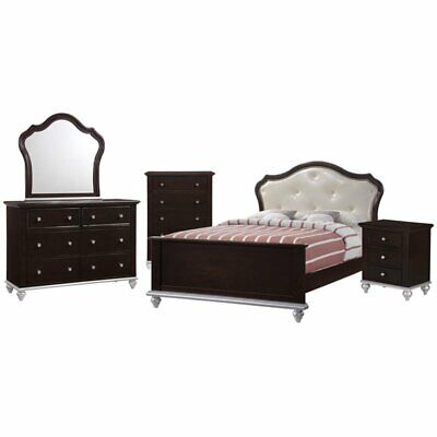 Picket House Furnishings Alli 5 Piece Full Platform Bedroom Set