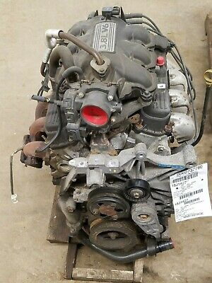 2008 Dodge Caravan 3.8 Engine Motor Assembly 167,149 Miles No Core Charge
