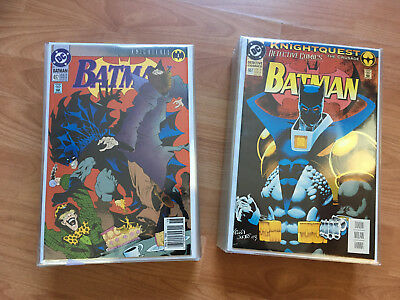 Batman Collection, Huge Lot (about 500 Comic Books) Complete Crossovers And More