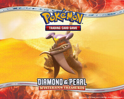 Pokemon TCG Diamond and Pearl Mysterious Treasures - Reverse Holo Common Cards