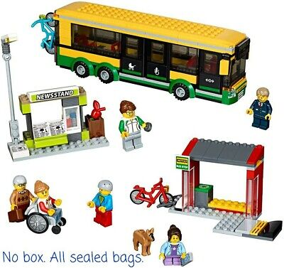 Lego 60154 City Bus Only - No Minifigs/acces./station/bikes/box. Free Us Shippng