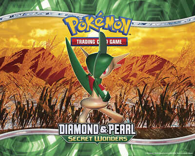 Pokemon TCG Diamond and Pearl Secret Wonders - Reverse Holo Common Cards