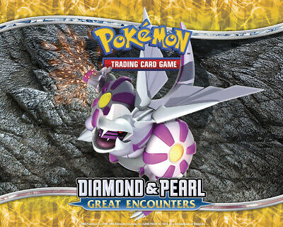 Pokemon TCG Diamond & Pearl Great Encounters - Reverse Holo Holofoil Rare Cards