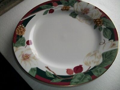 """""""new"""" Set 45piece Porcelain """"magnolia"""" Tienshaw Fine China-in Orig. Shippng Box"""
