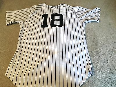 Didi Gregorius Signed Game Used Yankee Jersey - Psa, Mlb And Steiner