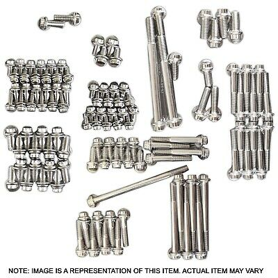 Proflow Ssf557 Stainless 12 Point Engine Bolt Accessory Kit Ford Windsor Block