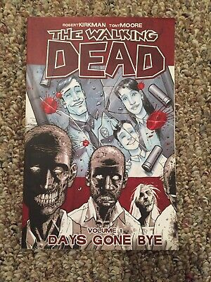 The Walking Dead Volume 1 Days Gone Bye Preowned, 9th Printing C 2009 Paperback