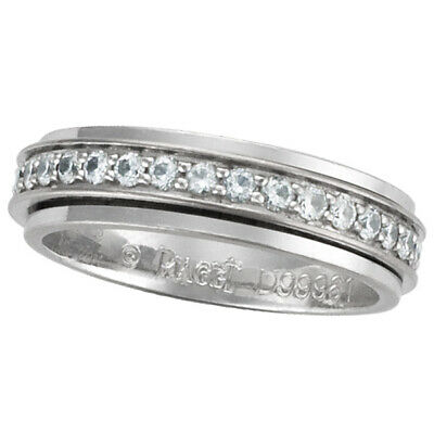 Piaget Possession Diamond Wedding Band In 18k White Gold W/app. 0.35 Cts In...
