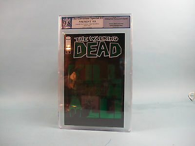 Walking Dead:governor Special #1 Pgx 9.8 (not Cgc) Eccc Green Cover Foil Edition