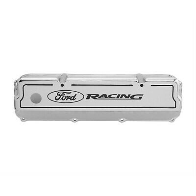 Ford Racing Fms-6582-z351 Valve Covers, Tall, Cast Aluminum, Polished, Ford Raci