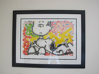 Tom Everhart Super Sneaky Artist Proof Framed