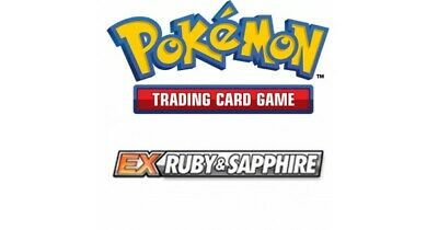 Pokemon TCG EX Ruby and Sapphire - Reverse Holo Uncommon Cards