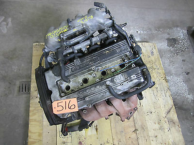 2.0l Engine Dohc 98 99 00 01 02 Sportage Motor Block Cylinder Head Oil Pan 107k