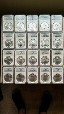 2012(w) West Point Set Ngc Ms70 Er From 20 Different Monster Boxes Pop Only 8