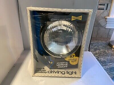 Vintage Yankee Model 67 Driving Light 60,000cp Inverted Mount Nos Wow!!!