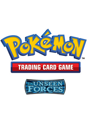 Pokemon TCG EX Unseen Forces - Reverse Holo Uncommon Cards