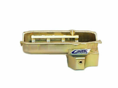 Canton Racing Products Sbc R/r Oil Pan - 7qt. Rh Dipstick