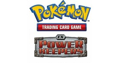 Pokemon TCG EX Power Keepers - Common Cards