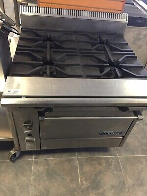 Us Range Stainless Steel 4 Burner With Oven