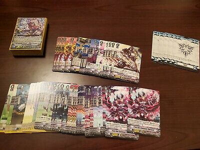 Cardfight Vanguard Lot: V-eb01 Spike Brothers Play Set (4 Copies Of Each)