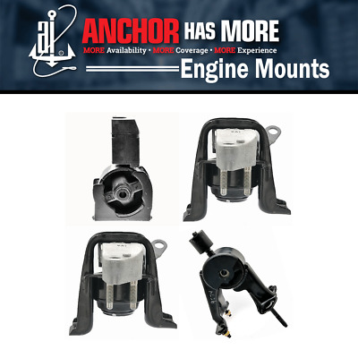 4x Anchor Enging Motor Mount Kit Fits 2000-2001 Toyota Celica L4 1.8l Ay30