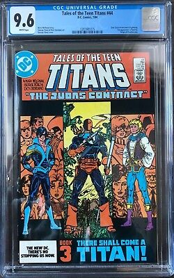 Tales Of The Teen Titans #44 Cgc 9.6 1st App. Of Nightwing!key Issue!l@@k!