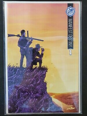 Manifest Destiny #1 5th Anniversary Sdcc Variant Nm Skybound Image Comics