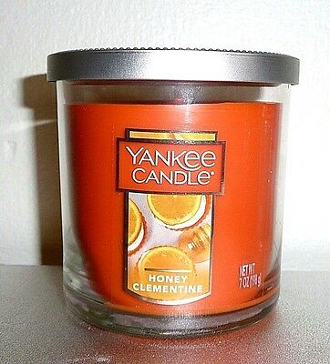 New!  Yankee Candles Honey Clementine 7 Oz Tumbler Candle 35-55 Hours