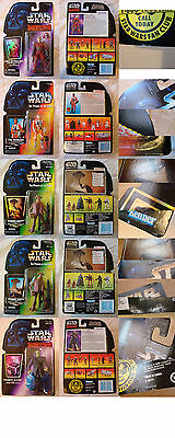 Star Wars The Power Of The Force And Shadows Of The Empire Lot! Rare Varients