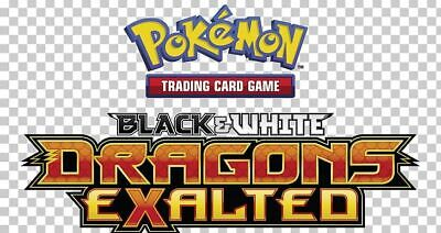 Pokemon TCG Black & White Dragons Exalted - Reverse Holo Uncommon Cards