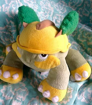 Pokemon Diamond and Pearl 2007 GROTLE Electronic Plush Toy *WoW*