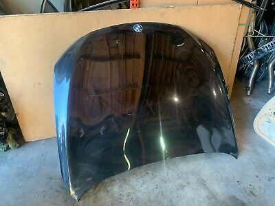 Bmw F01 F02 Hood Bonnet Lid Cover Panel Black Sapphire Metallic (475) Oem 82mk