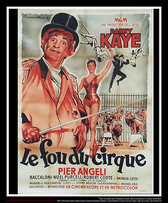 Merry Andrew 4x6 Ft French Grande Original Movie Poster 1958