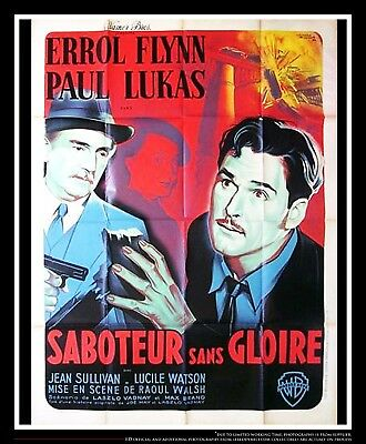 Uncertain Glory 4x6 Ft French Grande Movie Poster Original 1944