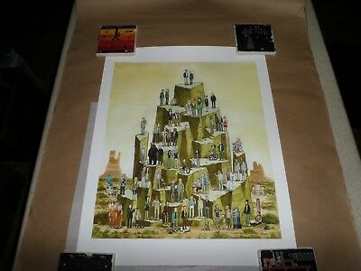 Breaking Bad Upon The Mount Scott Campbell Artist Proof #1 Rare Signed Print New