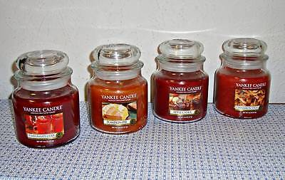 New Yankee 14.5 Oz Jar Candle Spicy Four Pack 4-scents
