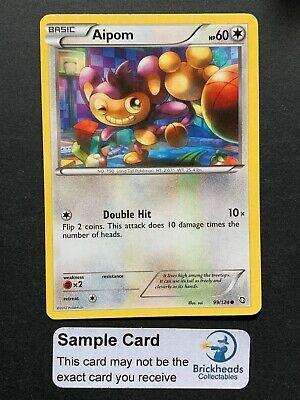Aipom 99/124 Common   BW: Dragons Exalted   Pokemon Card